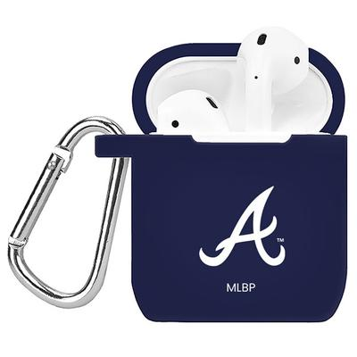 """Navy Atlanta Braves AirPods Case Cover"""