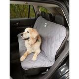 3 Dog Pet Supply - 3 Dog Pet Supply Quilted Car Back Seat Protector, Grey