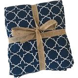 Molly Mutt Romeo & Juliet Dog & Cat Blanket, Navy, Medium