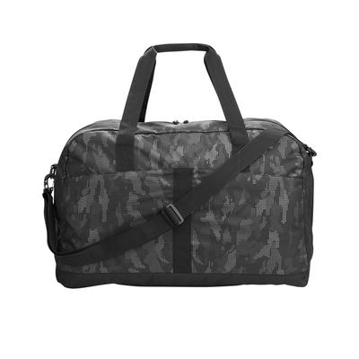 North End NE902 Rotate Reflective Duffel in Black/Carbon | Polyester