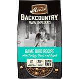 Merrick Backcountry Raw Infused Grain Free Dry Dog Food Game Bird Recipe, 4-lb bag