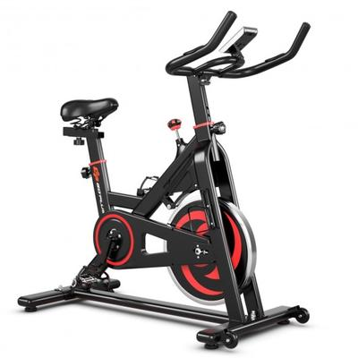 This is the magnetic cycling bike which provides you with powerful yet quiet training experience!
