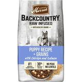 Merrick Backcountry Raw Infused Dry Puppy Food Recipe With Healthy Grains, 10-lb bag