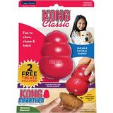 KONG Marathon Chicken Recipe Treat Dispenser Dog Toy, Large