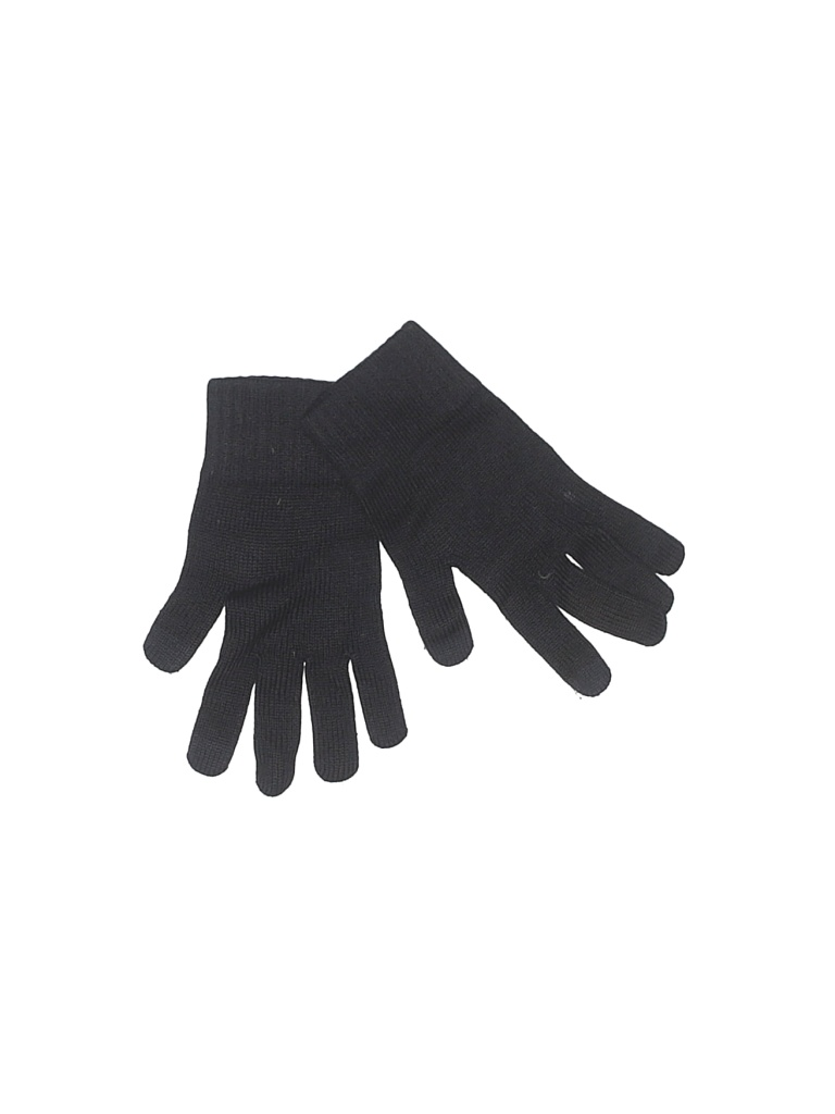 Gloves: Blue Solid Accessories