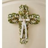 Preserved Cross Wreath by 1-800 ...