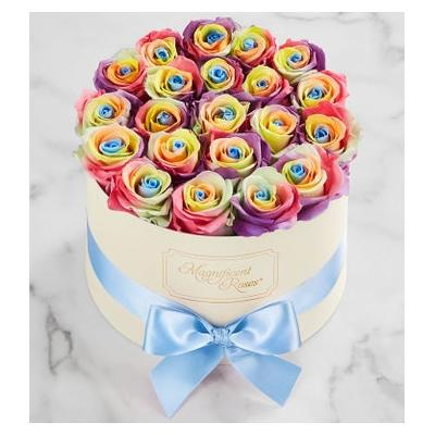 Magnificent Roses® Preserved Kaleidoscope Roses Magnificent Roses® Two Dozen Kaleidoscope by 1-800 Flowers