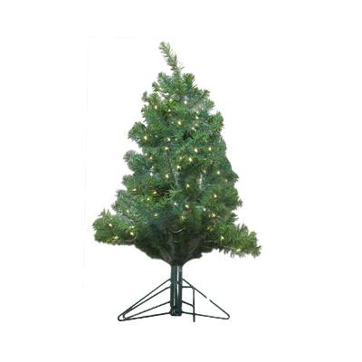 58% PRICE DROP: LED Lighted Wall Christmas Tree - 3 Foot