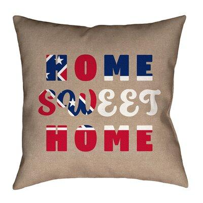 Artverseartverse Katelyn Smith Home Sweet Mississippi Pillow Product Type Throw Pillow Fabric Polyester Polyester Blend Indoor Outdoor U Wayfair Dailymail