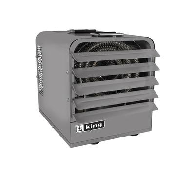 King Electric Industrial Portable Unit Heater, Heat Type Forced Air, Heat Output 51182 Btu/hour, Heating Capability 1500 ft², Model PKB4815-1-T-FM