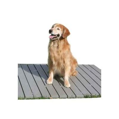 The Kennel Deck, 23.5 IN, Gray