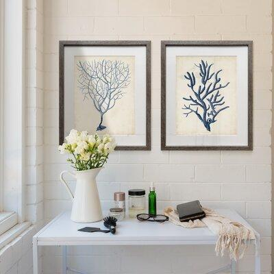 Rosecliff Heightsrosecliff Heights Graphic Foliage Iv 2 Piece Picture Frame Painting Print Set On Paper Paper In Yellow Blue Size Small 18 24 Wayfair Dailymail