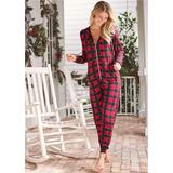 Sleep Onesie Pajamas & Sleep - Red/Black