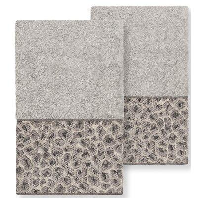 Mercer41 Forsyth 2 Piece Turkish Cotton Hand Towel Set Terry Cloth Turkish Cotton In Brown Ivory Cream Wayfair X113610106 From Mercer41 Ibt Shop