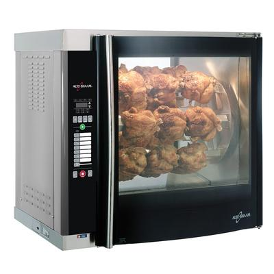 Alto Shaam AR-7E-DBLPANE Electric 7 Spit Commercial Rotisserie, 208v/1ph on Sale