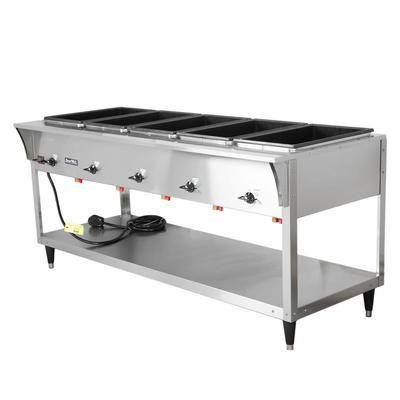 Vollrath 38205 5 Well Hot Food Table - (5) Thermostat, Drain 120v on Sale