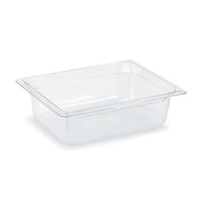 Vollrath 8024410 Half-Size Food Pan - 4 Deep, Low-Temp, Clear Poly on Sale