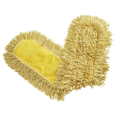 Rubbermaid FGJ15500YL00 36 Trapper Dust Mop Head Only w/ Looped Ends, Yellow on Sale