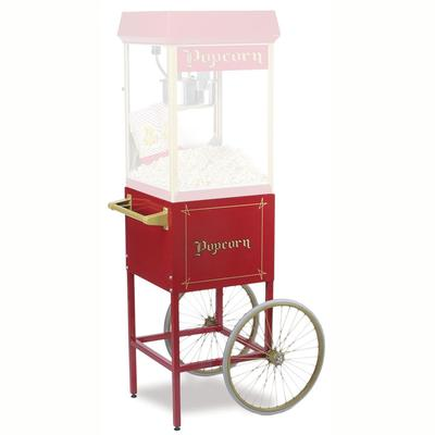Gold Medal 2689CR Fun Pop Cart for 8 oz Popper Machine w/ Rear Access Door, Red on Sale