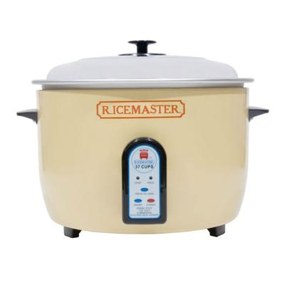 Town 57138 37 Cup Electric Rice Cooker, One Touch, Auto Cook/Hold, 230v/1ph on Sale