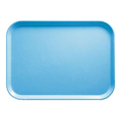 Cambro 1216518 Fiberglass Camtray Cafeteria Tray - 16.3L x 12W, Robin Egg Blue on Sale