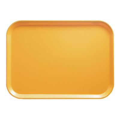 Cambro 1318171 Fiberglass Camtray Cafeteria Tray - 17.75L x 12.6W, Tuscan Gold on Sale