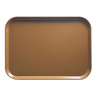 Cambro 1520508 Fiberglass Camtray Cafeteria Tray - 20.25L x 15W, Suede Brown on Sale