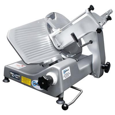 Univex 1000M Manual Meat & Cheese Slicer w/ 13 Blade, Belt Driven, Aluminum, 1/2 hp on Sale