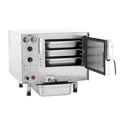 Accutemp S32401D060 (3) Pan Convection Steamer - Countertop, Holding Capability, 240v/1ph on Sale