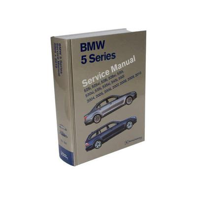 2006-2010 BMW 550i Paper Repair Manual - Bentley