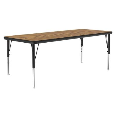 Correll A2448-REC 06 Activity Table w/ 1.25 High Pressure Top, 48W x 24D, Oak on Sale