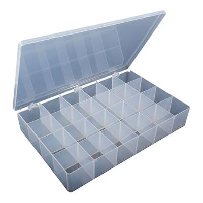 """Brownells Compartment Boxes - 12-7/8""""x8-5/8""""x2-1/4"""", 24 Compartments Pkg. Of 1"""