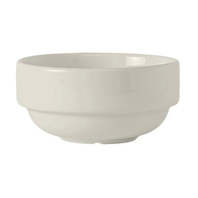 Tuxton AMU-043 10.5 oz Soup Cup - Ceramic, Pearl White on Sale