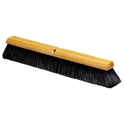 Carlisle 4503203 36 Push Broom Head w/ Horsehair & Polypropylene Bristles, Orange on Sale
