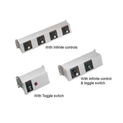 Hatco RMB-16D 16 Remote Control Box w/ Toggle & 4 Finite Switches for 240v/1ph on Sale