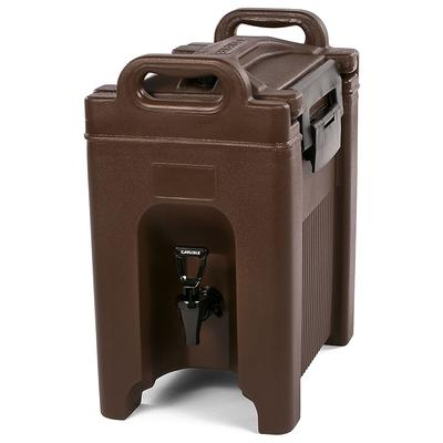 Carlisle XT250001 2.5 gal Cateraide Insulated Beverage Dispenser, Brown on Sale