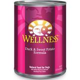 Wellness Complete Health Duck & Sweet Potato Formula Canned Dog Food, 12.5-oz, case of 12