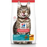 Hill's Science Diet Adult 7+ Indoor Chicken Recipe Dry Cat Food, 15.5-lb bag