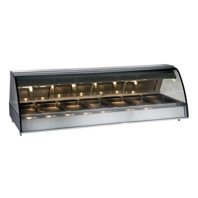 Alto Shaam TY2-96/PL-BLK 96 Dual-Service Countertop Heated Display Case - (7) Pan Capacity, 120v/208 240v/1ph on Sale