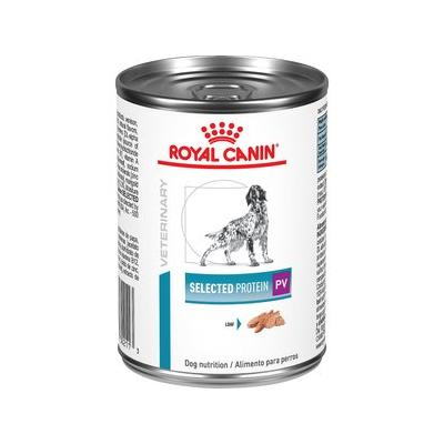 Royal Canin Veterinary Diet Hypoallergenic Selected Protein PV Dog Food, 13.6-oz can, 24ct