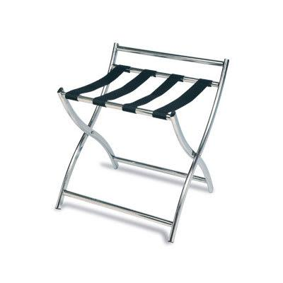 CSL 199SS-BL 22.5 Luggage Rack w/ 4 Black Straps, Stainless on Sale