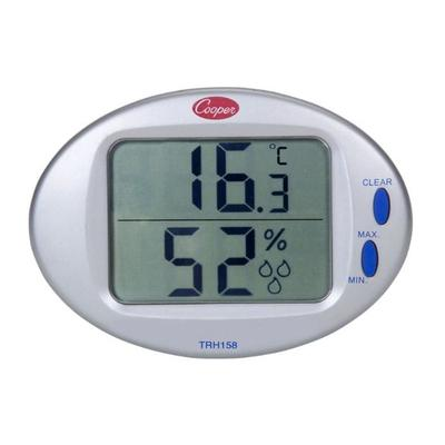 Cooper TRH158-0-8 Minimum & Maximum Thermometer Hygrometer, 32 To 122 Degrees F on Sale