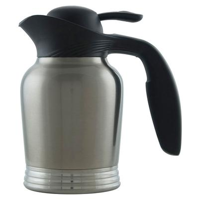 Service Ideas 10-00006-000 .6 liter Vacuum Carafe w/ No Drip Lip, Stainless Insulation