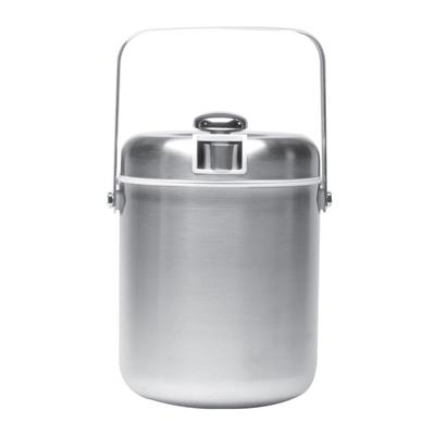 Service Ideas IBT15BS 1.5 liter Ice Bucket w/ Tongs, White Interior, Brushed Stainless on Sale