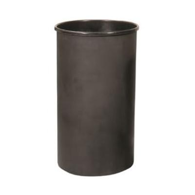 Witt 35LBK 35 gal Round Rigid Trash Can Liner, Plastic - Black on Sale
