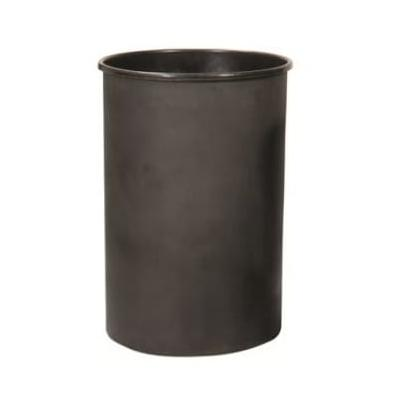 Witt 55LBK 55 gal Round Rigid Trash Can Liner, Plastic - Black on Sale