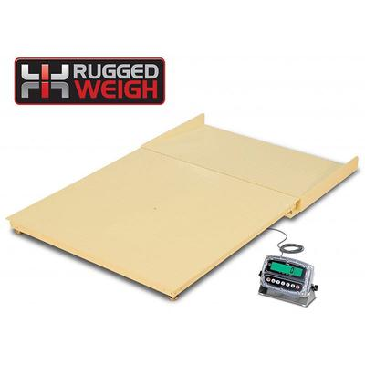 Detecto FH-544F-180 Scale Platform w/ 180 Weight Indicator, 4 x 4 ft, 5000 x 1 lb on Sale