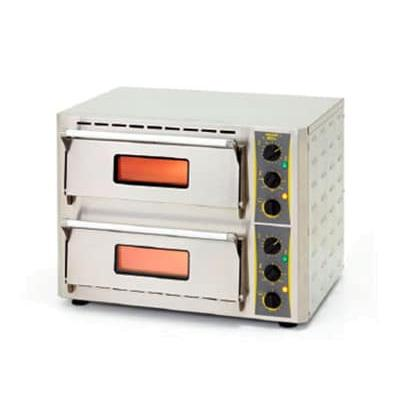 Equipex PZ-430D Countertop Pizza Oven - Single Deck, 208 240v/1ph on Sale