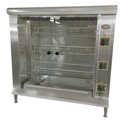 Equipex RBE-12/1 Electric 3 Spit Commercial Rotisserie, 208v/1ph on Sale