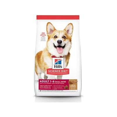 Hill's Science Diet Adult Small Bites Lamb Meal & Brown Rice Recipe Dry Dog Food, 33-lb bag